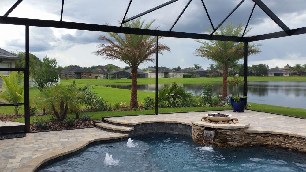 Swimming Pool Screen Enclosures